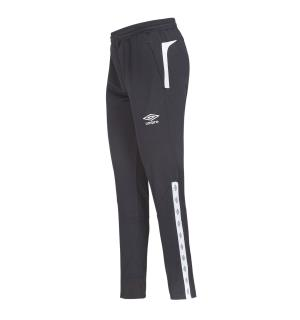 UMBRO UX Elite Pant Reg j Sort/Hvit 152 Treningsbukse i normal passform